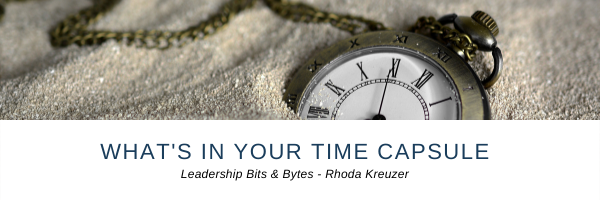 What's in Your Time Capsule?