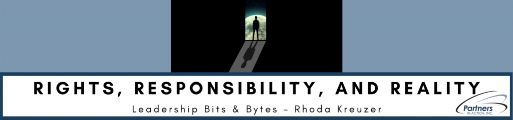 Rights, Responsibility, and Reality